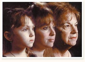 aging women