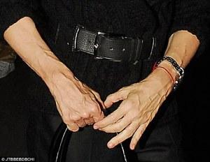 madonna hands