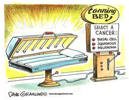 tan bed select a cancer